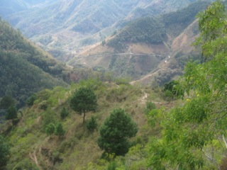 Mountains, Department of Chalatenango