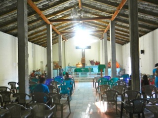 Rural church in the department of Chalatenango
